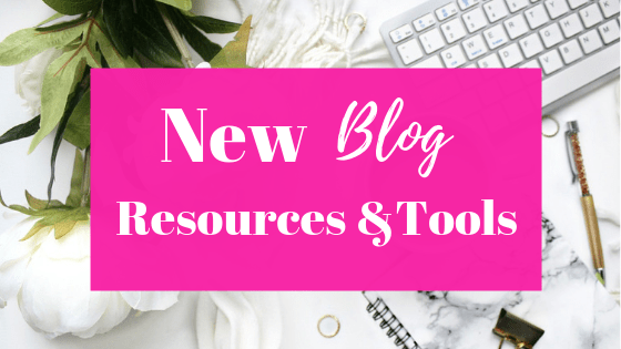 New blog resources for a new blog