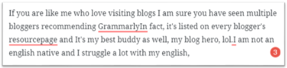 Grammarly best proofreading tool for bloggers