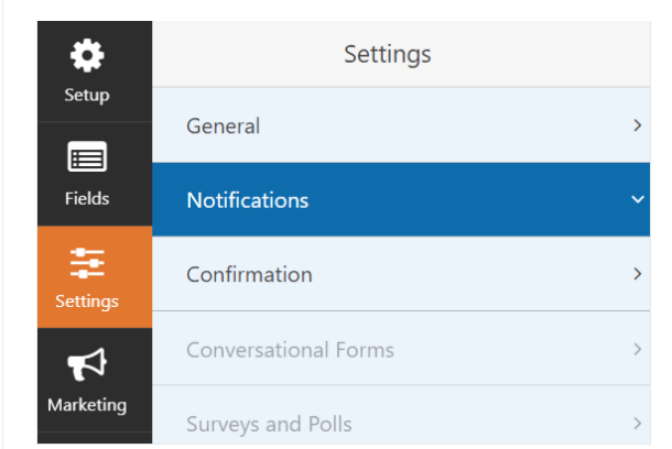 Configure your signature form's settings