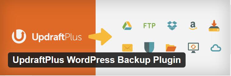 Updraft Plus a WordPress backup plugin