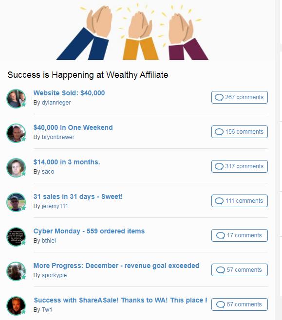 success is happening at WA
