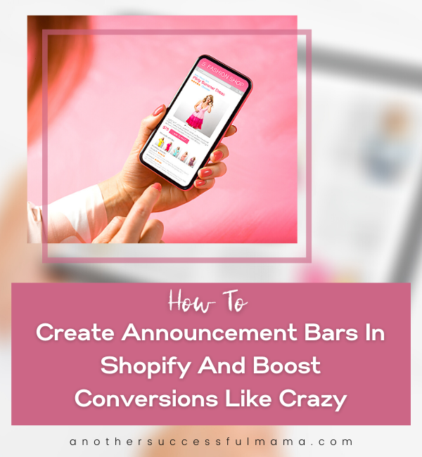 how to create announcement bars in shopify
