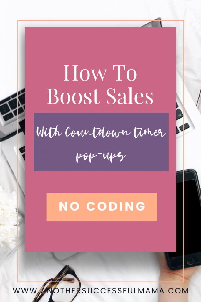 How to boost sales with countdown timer