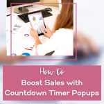 How to set count down timer popups