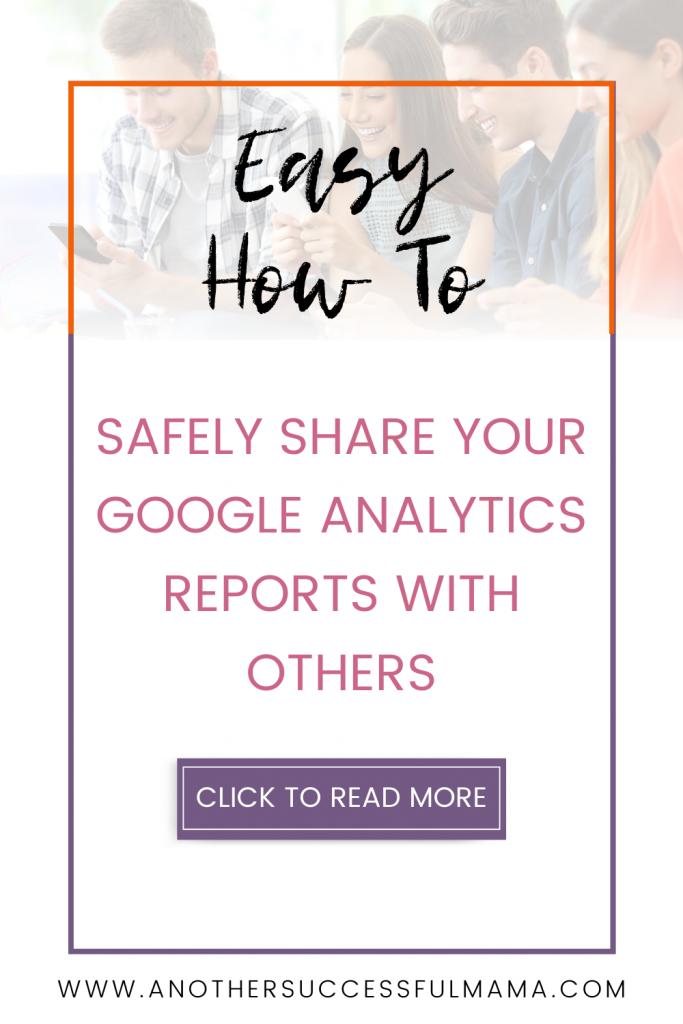share google analytics reports